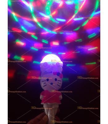 Toptan ışıklı müzikli asa çubuk oyuncak hello kitty