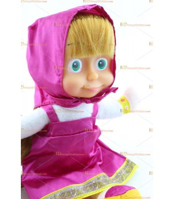 Toptan oyuncak bebek maşa sesli