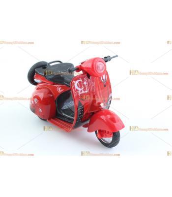 Toptan promosyon oyuncak motosiklet metal çek bırak