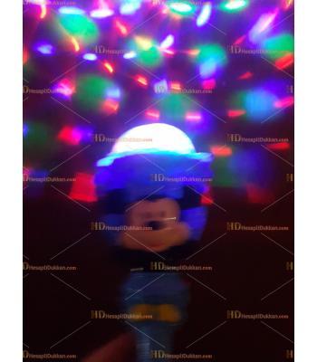 Toptan ışıklı müzikli dönen oyuncak mikili asa