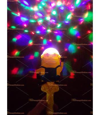 Toptan ışıklı müzikli dönen oyuncak minyonlar asa