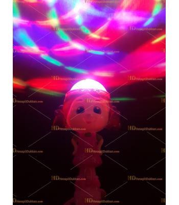 Toptan ışıklı müzikli dönen oyuncak niloya asa