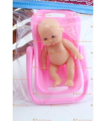 Toptan promosyon oyuncak bebek pusetli plastik küçük