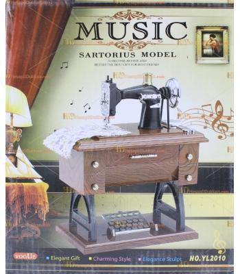 Toptan fiyat dikiş makinesi  otantik müzik kutusu çekmeceli