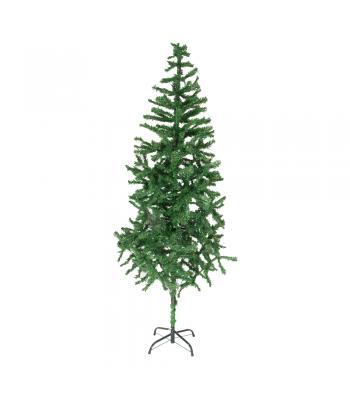 180 cm yılbaşı ağacı 450 dal kolay kurulum metal gövde