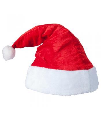 Kadife Noel Baba Şapkası