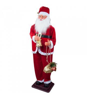 Dans Eden Noel Baba Maskotu 160 cm