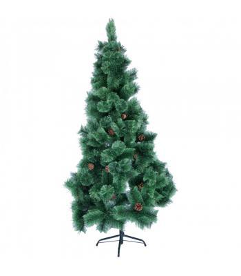 180 cm iğne yaprak kozalaklı yılbaşı ağacı kolay kurulum