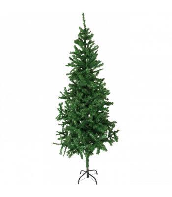 240 cm Yılbaşı Ağacı 1132 Dal Metal Ayak kolay kurulum