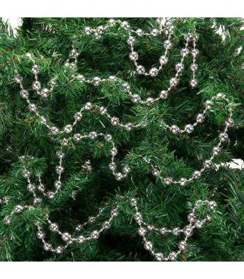 Yılbaşı Ağacı Süsü Gümüş Metalize Zincir