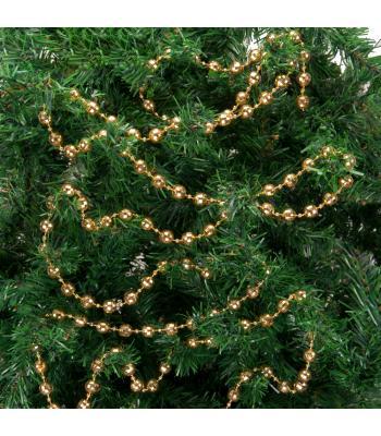 Yılbaşı Ağacı Süsü Altın Metalize Zincir Süs