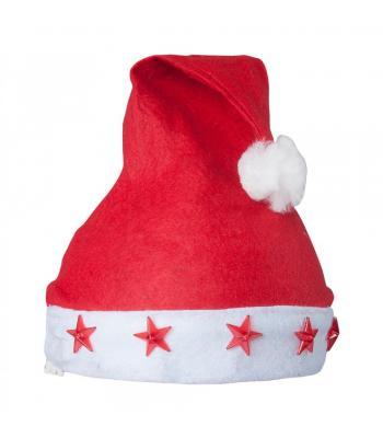Işıklı Noel Baba Yılbaşı Şapkası