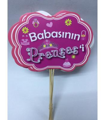 Toptan Babasının Prensesi Konuşma Balonu