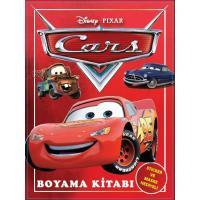 Toptan 24'lü Boyama Kitabı Cars