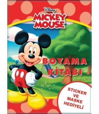 Toptan 24'lü Boyama Kitabı Mickey Mouse