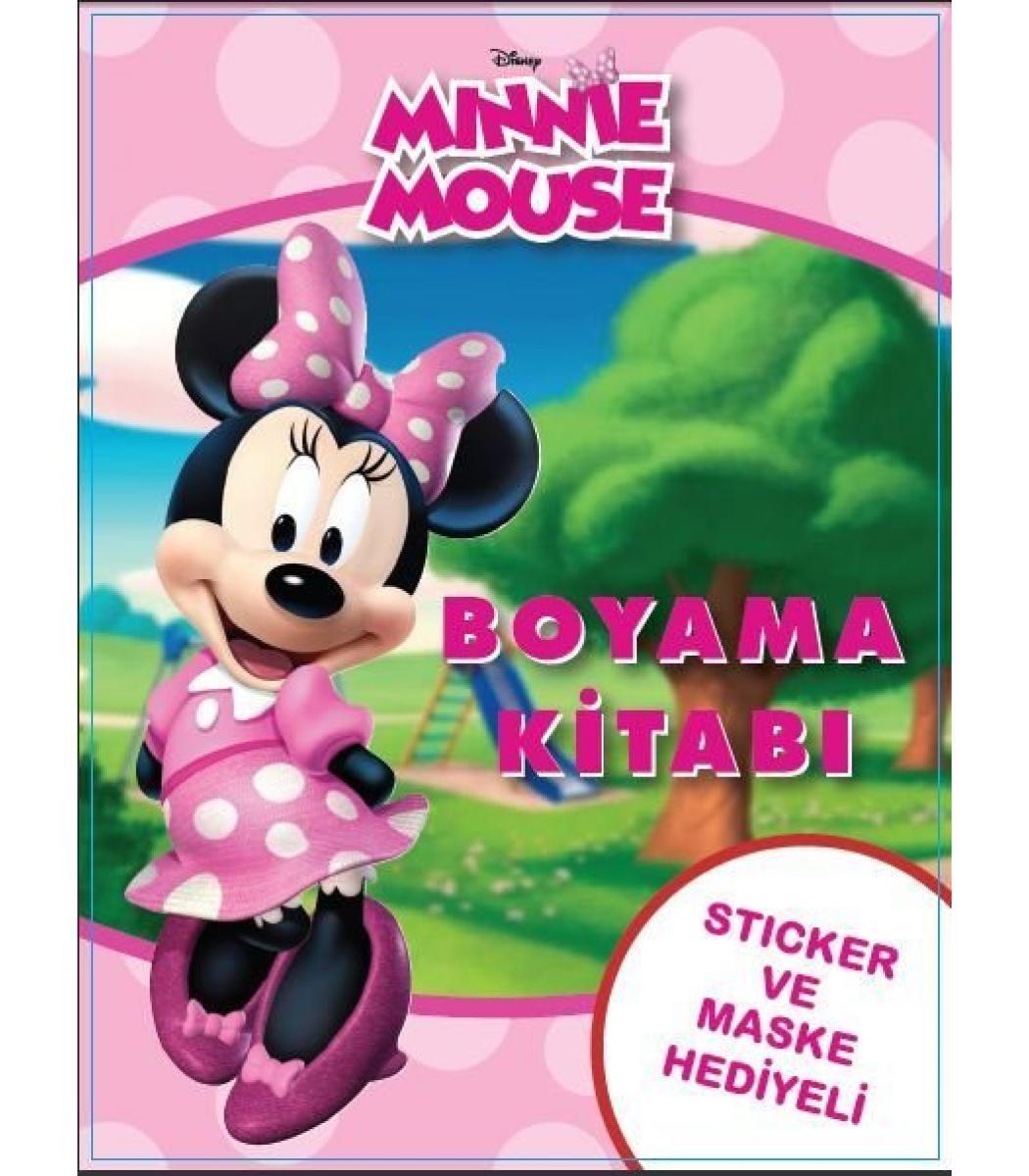 Toptan 24lü Boyama Kitabı Minnie Mouse