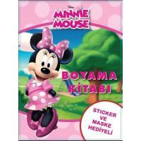 Toptan 24'lü Boyama Kitabı Minnie Mouse