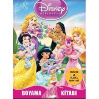 Toptan 24'lü Boyama Kitabı Prensesler