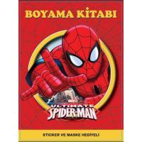 Toptan 24'lü Boyama Kitabı Spiderman