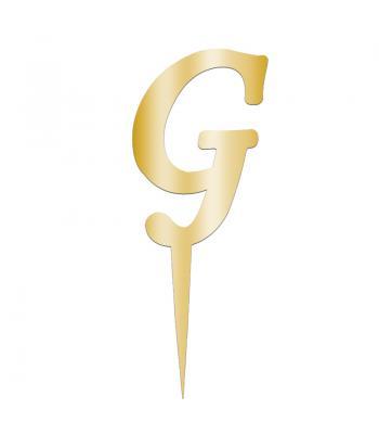 Toptan Pleksi Harf Aynalı Altın G