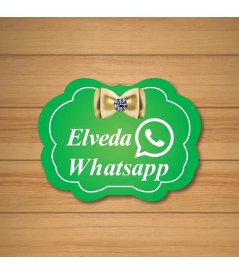 Toptan Elveda Whatsapp Konuşma Balonu