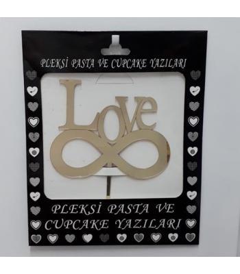 Toptan Pleksi Pasta Üzeri Yazı Love
