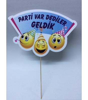 Toptan Parti Var Dediler Geldik Smile Konuşma Balonu