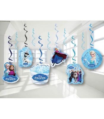 Toptan 6'lı Tavan Süs Frozen