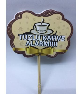 Toptan Tuzlu Kahve Alarmı Konuşma Balonu