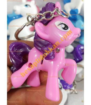 Toptan sesli ışıklı pony at anahtarlık