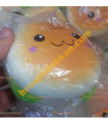 Toptan hamburger squishy TOY7108