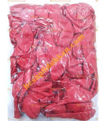 Toptan 12 inc iç mekan kırmızı balon 100 lü