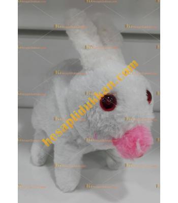 Toptan ışıklı oyuncak tavşan yürüyen sesli ışıklı