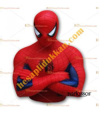 Toptan örümcek adam kumbara figürlü kutulu