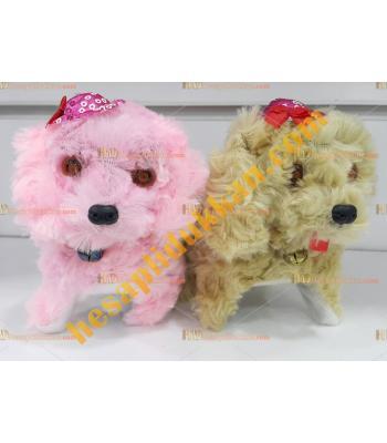 Toptan ışıklı oyuncak köpek yürüyen sesli