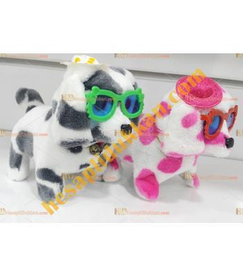 Toptan ışıklı oyuncak köpek sesli ışıklı yürüyen puanlı