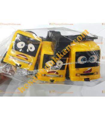 Toptan ucuz oyuncak iş makinesi seti sarı