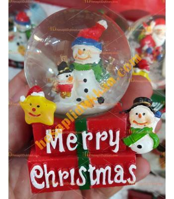 Toptan Yılbaşı Kar Küresi Fiyatları En Ucuz Kare Taban Noel Baba