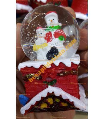 Toptan Yılbaşı Kar Küresi Fiyatları En ucuz Noel Baba Bacada