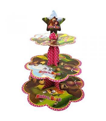 Toptan masha ve koca ayı kek standı