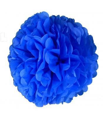 Toptan ponpon süs Gece mavisi