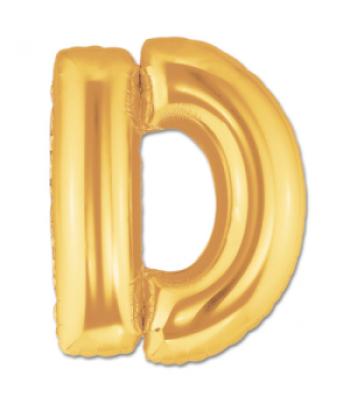 Toptan Gold Harf D Folyo Balon 16 inc