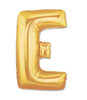 Toptan Gold Harf E Folyo Balon 16 inc