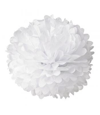Toptan ponpon süs beyaz