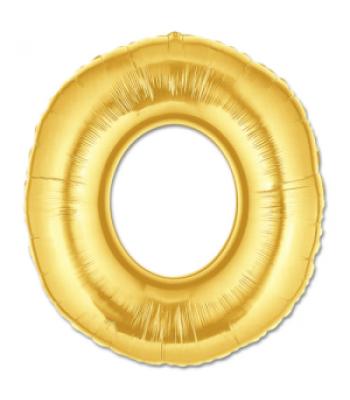 Toptan Gold Harf O Folyo Balon 16 inc