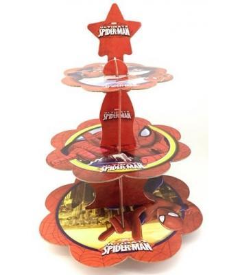 Toptan spiderman kek standı