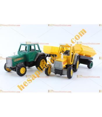 Toptan promosyon oyuncak Traktör Metal ucuz Mini