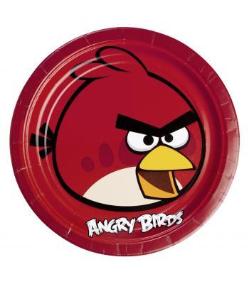 ANGRY BIRDS TABAK 23 CM (8 AD)
