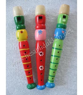 Ahşap oyuncak flüt P652