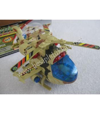 Apache helikopter pilli sensorlu oyuncak P711